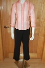Women's 4/XS outfit~NY&CO Shirt~TRIBAL Cropped Pants~