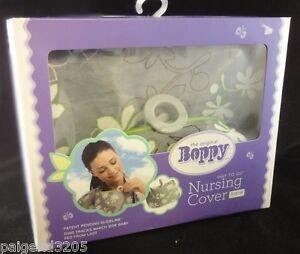 The Original Boppy Slideline Nursing Cover - Lupine/Olive Green Floral #5600471