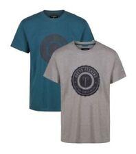 Tee-shirts et polos gris pour la pêche