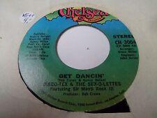 "7"" DISCO-TEX & THE SEX-O-LETTES - Get dancin' -VG++ - CHELSEA CH 3004 - US  1974"