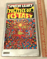 The Politics Of Ecstasy Timothy Leary Psychedelic Spiritual Search Mind PB 1971