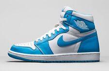Nike Air Jordan 1 Retro High OG UNC White Dark Powder Blue Carolina 555088 117