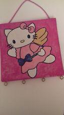 Hello Kitty Adventskalender Weihnachtskalender Keilrahmen Bild 20 x 20 cm