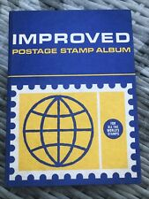 IMPROVED POSTAGE STAMP ALBUM