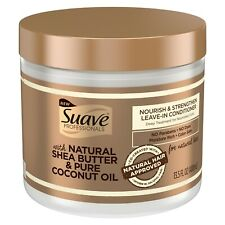 Suave Professional Nourish Strengthen Leave In Conditioner Natural Hair, 13.5 oz