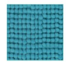 LOT DE 2 TAPIS DE SALLE DE BAIN CHENILLE 50 x 50 CM