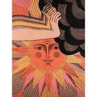 Propaganda Political Ussr Soviet Communism Sun Cloud World Peace Framed Print