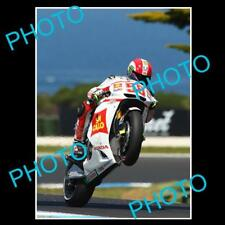 MARCO SIMONCELLI MOTO GP CHAMPION LARGE ACTION PHOTO 1