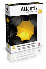 ANTIVIRUS ATLANTIS Licenza 1 PC 1 anno XP SP2 W7/8/10 SERVER 2003/2008 (no box)