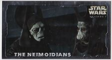 STAR WARS TOPPS EPISODE 1 SERIES 2 WIDEVISION HOBBY EMBOSSED FOIL H-E1 NEIMOIDIA