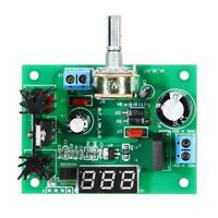 LM317 AC/DC Adjustable Voltage Regulator Step-down Power Supply Module w/ LED