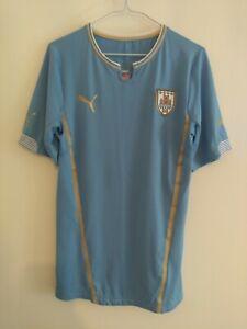 Uruguay Sample/Player Version Puma Home Football Shirt 2013/14, size Large