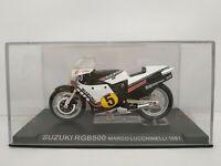 1/24 SUZUKI RGB500 MARCO LUCCHINELLI 1981 GP 500 MOTO A ESCALA SCALE DIECAST
