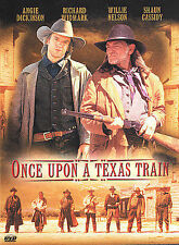 Once Upon a Texas Train DVD ANGIE DICKERSON WILLIE NELSON USED VERY GOOD