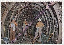 CPSM 62 PAS DE CALAIS LA MINE EN ACTIVITE Creusement galerie explosif mineurs n2