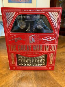 The Great War In 3D 1914 - 1918  Stereo Viewer, Book, and Cards