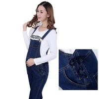 Skinny Dungarees Jeans Trousers Denim Overalls Jumpsuits Slim 6 8 10 12 14 16 18