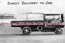 SF 335 - Steam Lorry, Timber Merchants, Ipswich, Suffolk - 6x4 Photo