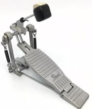 Pearl Bass Drum Pedal Single Pedal Double Spring Silve Great Working Cond     B2