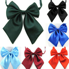 1Pc Women Cravat Butterfly Bow Tie Female Student Hotel Clerk Waitress Neckwear