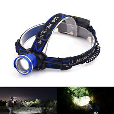 Vander Led Headlight Xm-L T6 Adjustable 5000Lumens Headlamp Camping Spotlight