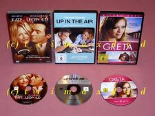 3xDVD _ Kate & Leopold + Up In The Air + Greta _ sehr guter Zustand