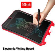 """Handheld Digital Handwriting Drawing Tablet 10"""" LCD Color Display for Kids Teens"""