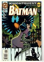 Batman #503 (Jan 1994, DC) Knightquest: The Crusade, Catwoman app.   FN/VF (7.0)