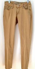 Womens Old Navy RockStar Skinny Carmel Colored Jeans Jeggings Size 4 runs small