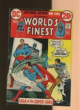 World's Finest Comics 215 VG/FN 5.0 * 1 Book * 1st Super-Sons! Superman! Batman!