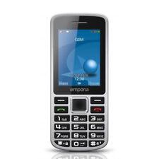 Emporia Prime silber Handy 2,4'' Display 5MP Bluetooth Radio Taschenlampe