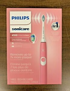 Philips Sonicare Protective Clean 4100 Rechargeable Electric Toothbrush Pink-NEW