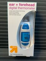 Forehead and Ear Thermometer by Vive Instant Read Digital Home Temporal Artery