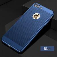 Premium Slim Blue Mesh Hard Back Case Cover For iPhone 6S Plus iPhone 6 Plus
