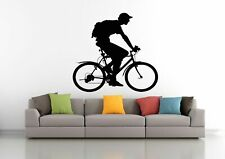 Wall Decal Sticker Bedroom sport bike bmx bicycle riding boy nursery art bo2837