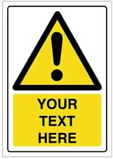 10x A2 corex warning signs add any text