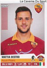 390 MATTIA DESTRO ITALIA AS.ROMA STICKER CALCIATORI 2013 PANINI