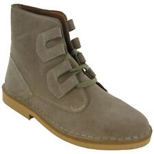 Roamers Ghillie Desert Boots Mens Tie Lace Up Real Suede Leather M327 UK 6-12