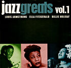JAZZ GREATS Volume 1, BILLIE HOLIDAY/LOUIS ARMSTRONG/ELLA FITZGERALD. NEW CD