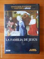 DVD LA FAMILIA DE JESUS - GRANDES ENIGMAS DE LA HISTORIA (L8)