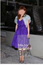 BELLVILLE SASSOON LORCAN MULLANY Fox Fur Bolero Shrug Vest, Wedding, Made in UK
