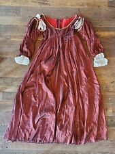 Handmade Sca Renaissance Larp Medieval Princess Costume Embroidered Dress