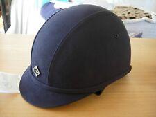 58 cm 7 1//8 Charles Owen JEUNES COUREURS Équitation Chapeau-Noir