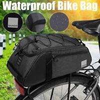 Bicycle Bike Rear Seat Saddle Waterproof Pannier Shoulder Thermal Cycling Bag