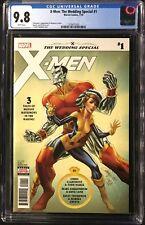 X-Men: The Wedding Special #1 CGC 9.8 Regular J. Scott Campbell Cover!