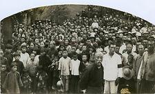 CHINE Réfugiés Photo originale Vintage 9x15cm, ca 1925
