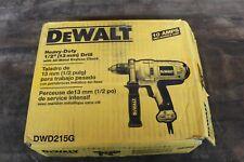 DeWALT Heavy-Duty 1/2'' Mid-Handle Grip Drill with Keyless Chuck DWD215G