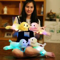 Colorful Creative Soft Luminous Doll LED Light Plush Dog Stuffed Animal Puppy