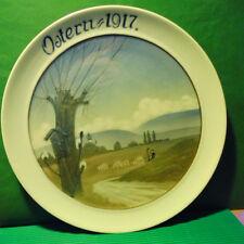 Rosenthal Kunst-Abteilung  Ostern-Teller 1917 - Jul.V.Guldbrandsen