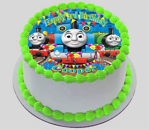 THOMAS THE TANK ENGINE  EDIBLE  ICING  CAKE TOPPER PARTY IMAGE FROSTING SHEET